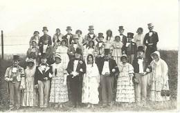 BOURLERS - CHIMAY : SUPERBE CARTE PHOTO - Un Groupe Du Cortège Du Centenaire En 1930 - Chimay
