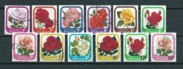 1975 New Zealand Complete Set Roses,flowers Used/gebruikt/oblitere - Nieuw-Zeeland