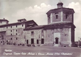 Spoleto (PG) - Ingresso Teatro Caio Melisso E Chiesa Manna D'Oro, Viaggiata 1958 - Perugia