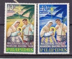 PHILIPPINES - N° Y&T - Série 680/1 - Les 2 Valeurs    -  Noel   - N** - Philippines