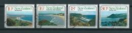 1977 New Zealand Complete Set Landscapes Used/gebruikt/oblitere - Nieuw-Zeeland