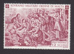 Sovereign Order Of Malta, Scott #Unlisted, Mint Never Hinged, Nativity, Issued 1969 - Malta