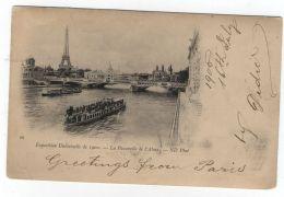 France/Romania POSTCARD UNIVERSAL EXPOSITION PARIS 1900 - 1900 – Paris (France)