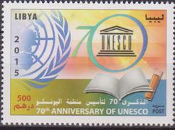 LIBYA UNESCO 1 V MNH - UNESCO