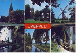 Groeten Uit Overpelt (meerzicht)  JvdB 382/1 - Overpelt