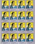 YEMEN ARAB REPUBLIC  DETAILS 24 TIMBRES GAUGUIN  (MG160311) SPECIAL POSTAGE FOR THIS STAMPS - Yemen