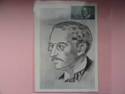CARTE MAXIMUM CARD RUDOLF DIESEL ALLEMAGNE - BRD