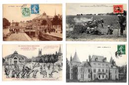 Très Beau Lot De 24 CPA/CPSM NB Département De L'Aube (10) - Mise à Prix 1 Euro - Cf Réf Sur Delcampe - 5 - 99 Postcards