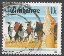 Zimbabwe. 1985 National Infrastructure. 10c Used. SG 663 - Zimbabwe (1980-...)