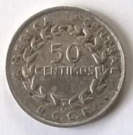 Monnaie - Costa Rica - 50 Centimos 1970 - - Costa Rica