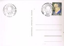 17972. Tarjeta Postal  VALENCIA 1983. Fechador Especial Expo Farmacia - 1931-Hoy: 2ª República - ... Juan Carlos I