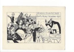14599 - Genève Matu Reale Moderne 1929 Calvin's Boys  Carte D'Etudiant   (Format 10X15) - GE Genève