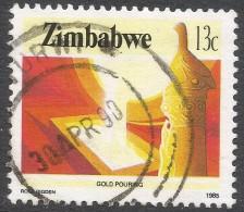 Zimbabwe. 1985 National Infrastructure. 13c Used. SG 666 - Zimbabwe (1980-...)