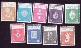 Sovereign Order Of Malta, Scott #Unlisted, Mint Never Hinged, Symbols, Issued - Malta