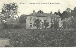 GLONS : Propriété De M. Depaifve G. Bourgemestre - Cachet De La Poste 1914 - Bassenge