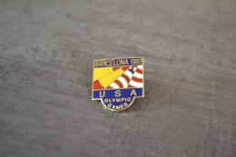 Pin's Barcelona 1992 USA Olympic Games Jeux Olympiques - Jeux Olympiques