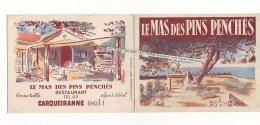 CARQUEIRANNE - Le Mas Des Pins Penchés (restaurant) - Levensmiddelen