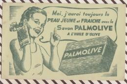 276  BUVARD SAVON PALMOLIVE    18 X 11 CM - Parfums & Beauté