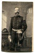 Cp - Homme En Uniforme - Photographe Ch. Karsenty BIZERTE - Guerre, Militaire