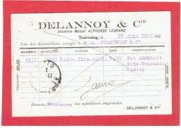 TOURCOING 1921 DELANNOY ANCIENNE MAISON LEGRAND A COMMUNEAU A BEAUVAIS OISE CARTE EN BON ETAT - Tourcoing