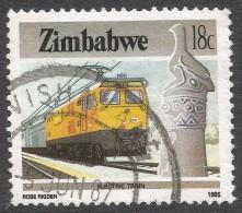 Zimbabwe. 1985 National Infrastructure. 18c Used. SG 669 - Zimbabwe (1980-...)