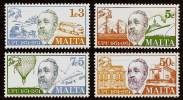 MALTA 1974 - Centennial UPU / Universal Postal Union - SALE !  4v Mi 497-500 MNH ** Cv€3,20 Q630 - Malta