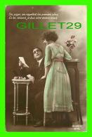 COUPLES - CES PAGES ME RAPPELLENT VOS PREMIERS AVEUX... - J. K. No 9176 - ÉCRITE EN 1922 - - Couples