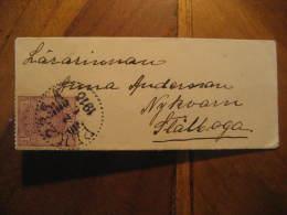 PLK. 235. 1916 ? To Stallaga ? Stamp On Little Cover Sweden - Schweden