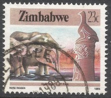 Zimbabwe. 1985 National Infrastructure. 20c Used. SG 671 - Zimbabwe (1980-...)