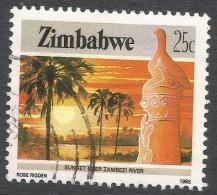 Zimbabwe. 1985 National Infrastructure. 25c Used. SG 672 - Zimbabwe (1980-...)