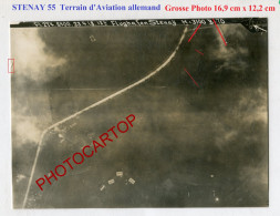 Flugplatz-Fl.A.253-Terrain D'Aviation All.-STENAY-Grosse PHOTO Aerienne All.-Fl.274-Guerre 14-18-1 WK-France-55-Militari - Stenay