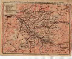 VP4535 - Carte Postale Télégraphique , Téléphonique & Des Chemins De Fer Du Dépt De LOT ET GARONNE - Cartes