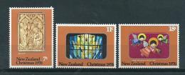 1976 New Zealand Complete Set Christmas,kerst,weihnachten MNH,Postfris,Neuf Sans Charniere - Nouvelle-Zélande