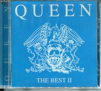 """Queen""""CD Album""""The Best II Bleu""""Rare France Neuf - Collector's Editions"""