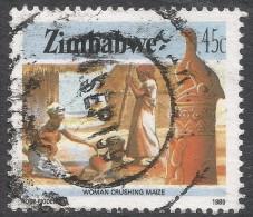 Zimbabwe. 1985 National Infrastructure. 45c Used. SG 676 - Zimbabwe (1980-...)
