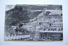 GIBRALTAR   GIBILTERRA  Casemates Barracks.   NON   VIAGGIATA  COME DA  FOTO FORMATO PICCOLO - Gibilterra