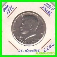 UNITED STATES OF AMERICA   HALF DOLLAR   J.F. KENNEDY  AÑO 1976 - Central America