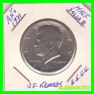UNITED STATES OF AMERICA   HALF DOLLAR   J.F. KENNEDY  AÑO 1971 - Zentralamerika