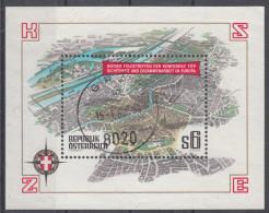 Österreich 1986 Mi# 11867 Block 8 KSZE-Konferenz Gestempelt - 1981-90 Used