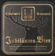 BIERDECKEL / BEER MAT / SOUS-BOCK: Ottobeurer Brauerei - Portavasos