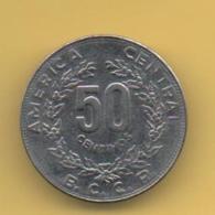COSTA RICA -  50 Centimos 1982   KM209 - Costa Rica