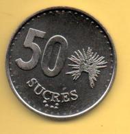 ECUADOR - 50 Sucres 1991 SC  KM93 - Ecuador