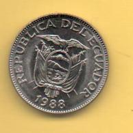 ECUADOR - 1 Sucres 1988 SC  KM89 - Ecuador