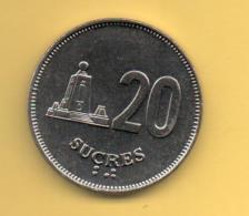 ECUADOR - 20 Sucres 1991 SC  KM94 - Ecuador