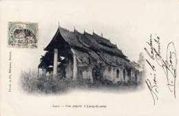 LAOS (Indo-Chine) - Une Pagode à XIENG-KONANG, Gel.190? - Laos