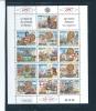 Monaco Timbres De 1997   N°2089  A  2101 (feuille Entière)   Neuf **vendu A La Faciale - Blocks & Kleinbögen
