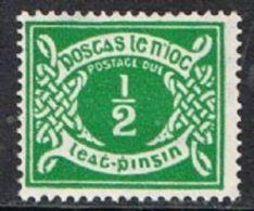 Ireland SG D5 1942 Postage Dues ½d Mounted Mint - Segnatasse