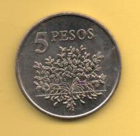 GUINEA BISSAU - 5 Peso 1977 KM20 FAO - Guinea-Bissau