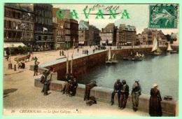 50 CHERBOURG - Le Quai Caligny - Cherbourg
