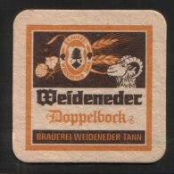 BIERDECKEL / BEER MAT / SOUS-BOCK: Weideneder Bräu - Sous-bocks